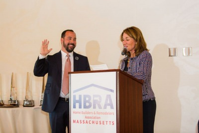 2018/2019 Hunter Marosits Installed As President Of The HBRA Of MA